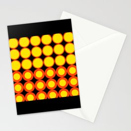 60s Circle Mod Stationery Cards