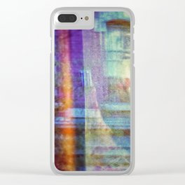 Colors city Clear iPhone Case