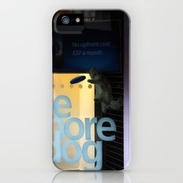 Be More Dog iPhone Case