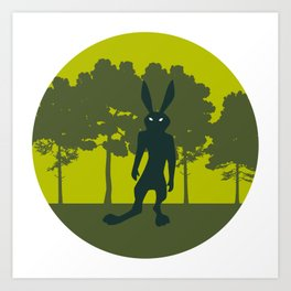 Pooka: Rabbit Art Print