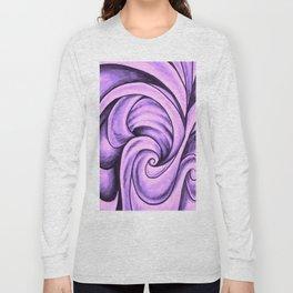 Swirl (NEON PINK) Long Sleeve T-shirt