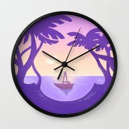 Sirena Summer Wall Clock