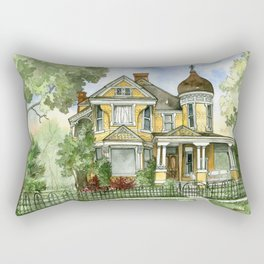 Victorian in The Avenues Rectangular Pillow