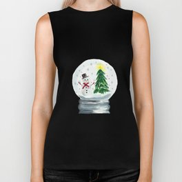 Let it Snow Biker Tank
