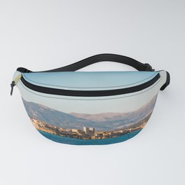 Seacoast of Antibes in a sunny winter day Fanny Pack