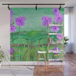 Meadow flowers Wall Mural