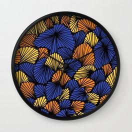 Happy abstract: Jungle Nr:03 Wall Clock