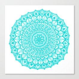 Sand Dollar-Blue Canvas Print