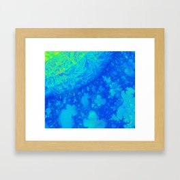 Europa JellyFish 3D Fractal Framed Art Print