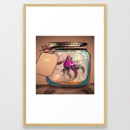 Beta in a Jar Framed Art Print