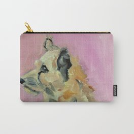 Marvelous Mystery Mutt Dog Portrait Carry-All Pouch