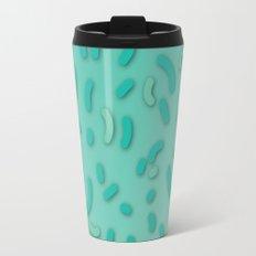 Aqua Donut Sprinkles Travel Mug
