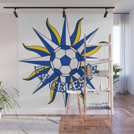 Uruguay La Celeste (The Sky Blue) ~Group A~ Wall Mural