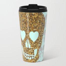 skulls & heartz;; Travel Mug