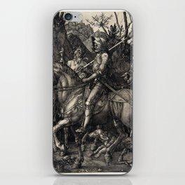 Albrecht Dürer Knight, Death and the Devil iPhone Skin