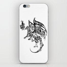 Tribal Dragon iPhone Skin