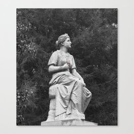Guardian with a Bloom Canvas Print