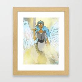 Fighter Angel Framed Art Print