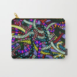 Snaking Doodles Zentangle Carry-All Pouch