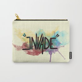 """invade"" Carry-All Pouch"