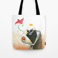maybe this apple Tote Bag