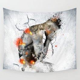 nude explore  Wall Tapestry