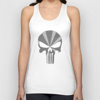 punisher Tank Tops featuring The Punisher by Andrian Kembara