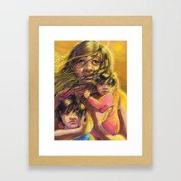 Border Patrol Framed Art Print