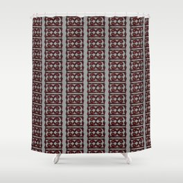 graybrown Shower Curtain