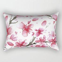 Cherry Blossoms #society6 #buyart Rectangular Pillow