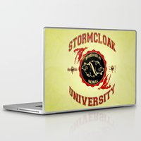 skyrim Laptop & iPad Skins featuring Stormcloak University(Skyrim) by Chubbybuddhist