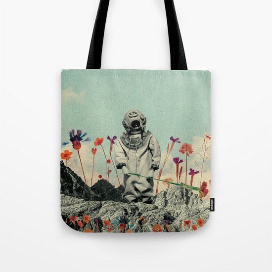 Lonely Diver Tote Bag