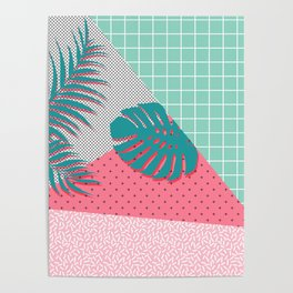 Santa Monica #society6 #decor #buyart Poster