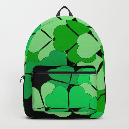 Lucky shamrocks Backpack