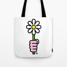 Daisy punch Tote Bag