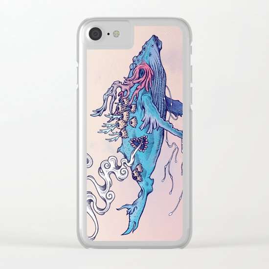 The Last Whale Clear iPhone Case