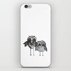 Two Feathered Friends iPhone & iPod Skin