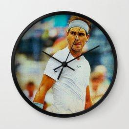 Nadal tennis Wall Clock