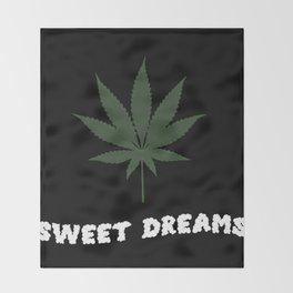 Things Stoners Love Throw Blanket