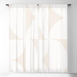 Monochromatic Minimalism - White Blackout Curtain