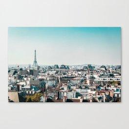 I <3 parisian rooftops. Canvas Print
