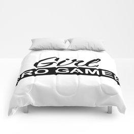 Girl PRO GAMER Comforters