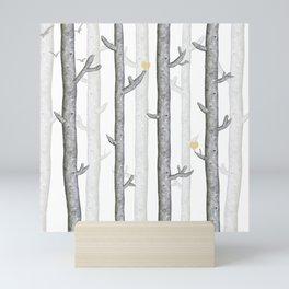 Nature lover trees Mini Art Print