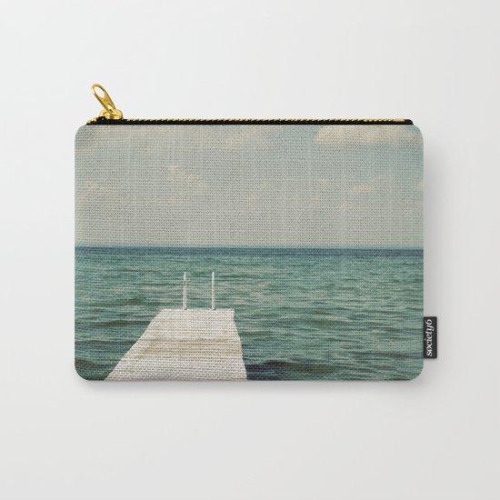 Mint Lake Escape  Carry-All Pouch