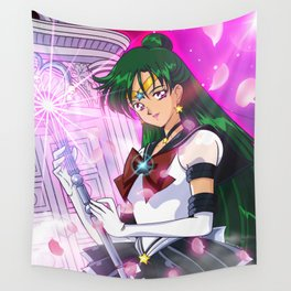 Eternal Sailor Pluto Wall Tapestry