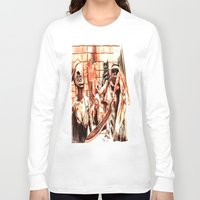 silent hill Long Sleeve T-shirts featuring Silent Hill by Joseph Silver