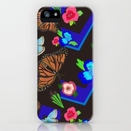 Butterfly Meetup iPhone Case