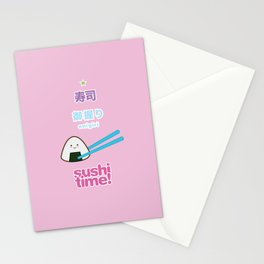 Sushi Time! - Onigiri Stationery Cards