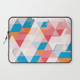 Crumbling triangles Laptop Sleeve