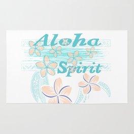 Hawaiin Aloha Spirit Rug